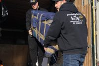Movers Loading Residential Furniture onto Moving Truck